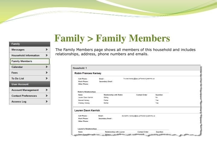 Family > Family Members