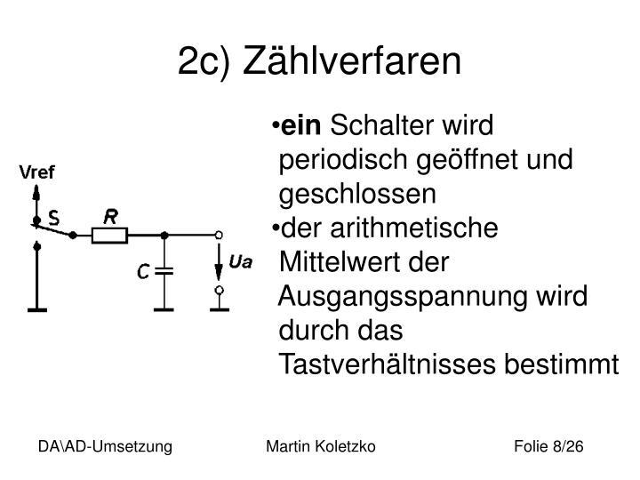 2c) Zählverfaren