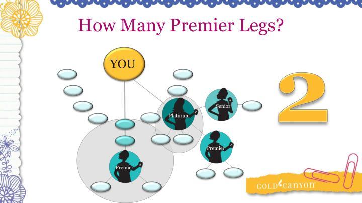 How Many Premier Legs?
