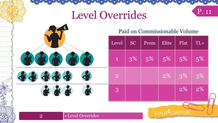 Level Overrides