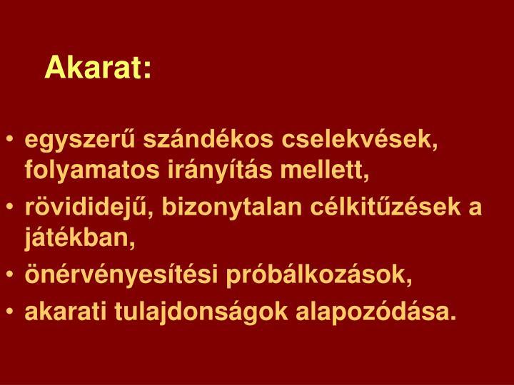 Akarat: