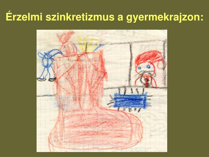 Érzelmi szinkretizmus a gyermekrajzon:
