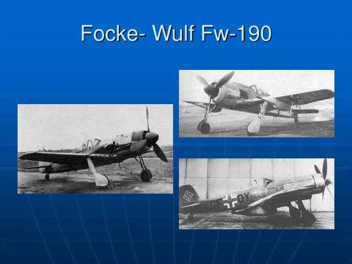 Focke- Wulf Fw-190