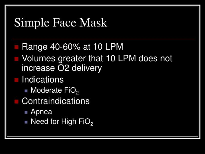 Simple Face Mask