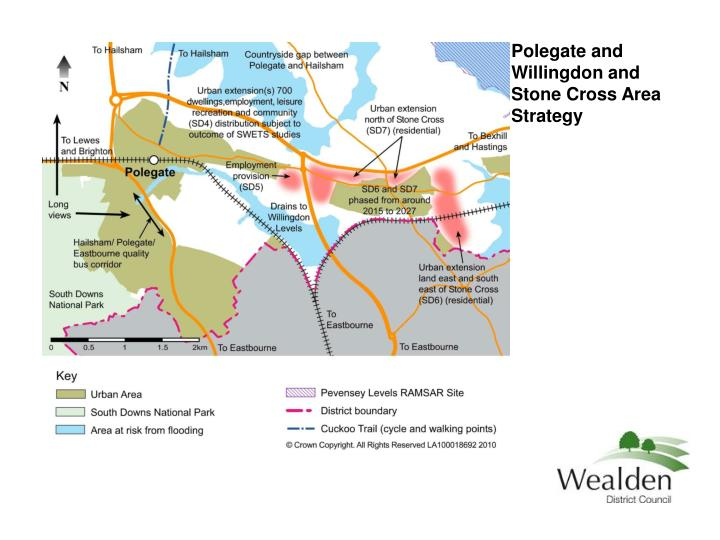 Polegate and Willingdon and Stone Cross Area Strategy