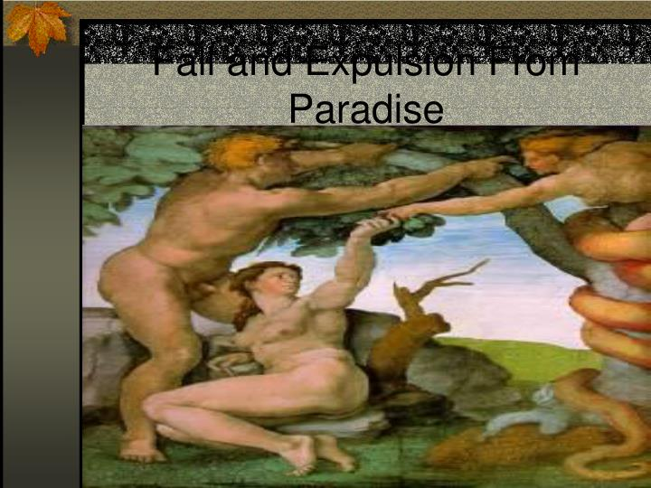 Fall and Expulsion From Paradise