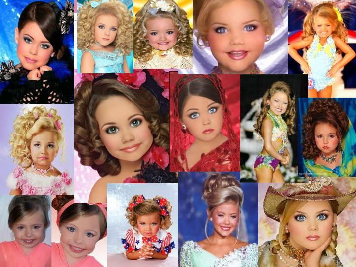 Child beauty pageants