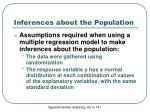 inferences about the population1