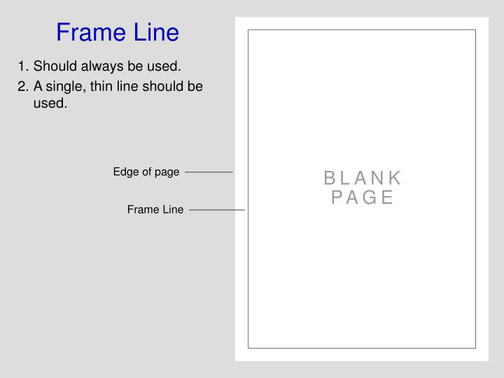 Frame Line