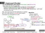 improved divider