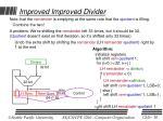 improved improved divider