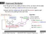 improved multiplier