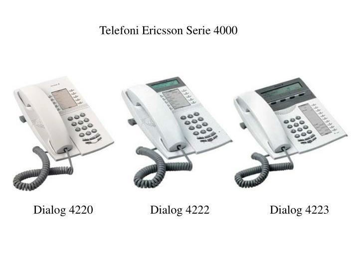 Telefoni Ericsson Serie 4000