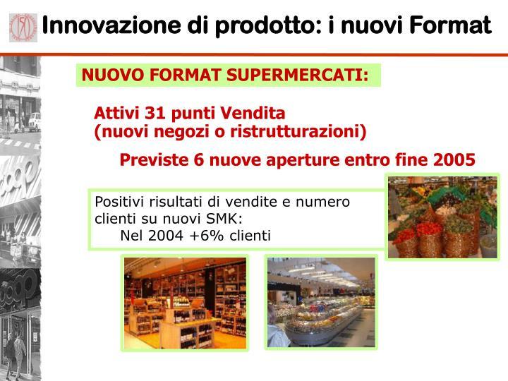 Innovazione di prodotto: i nuovi Format