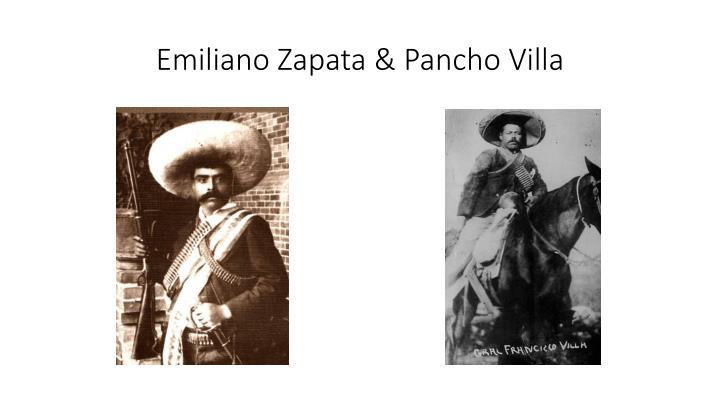 Emiliano Zapata &