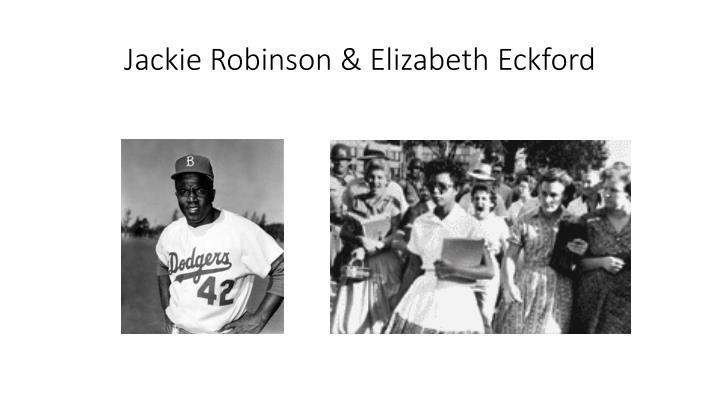 Jackie Robinson & Elizabeth