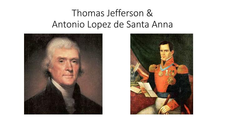 Thomas Jefferson &