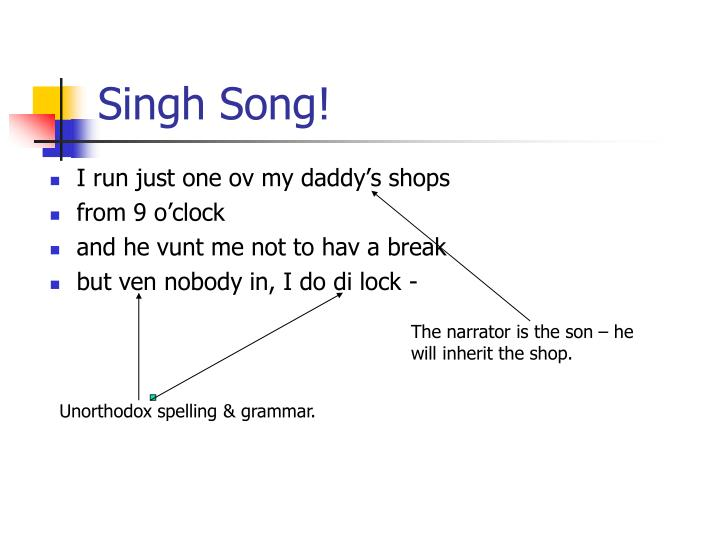 Singh Song!