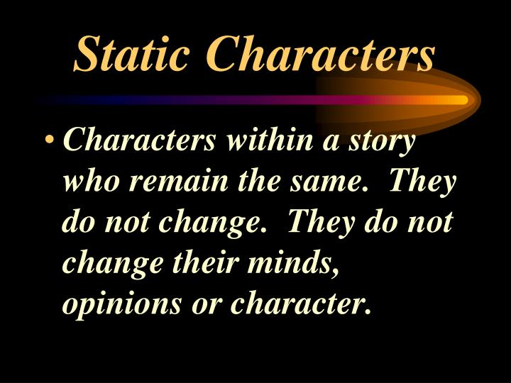 Static Characters