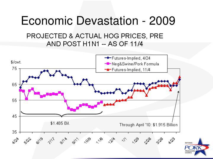 Economic Devastation - 2009