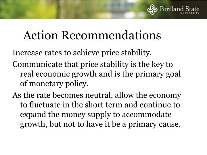 Action Recommendations