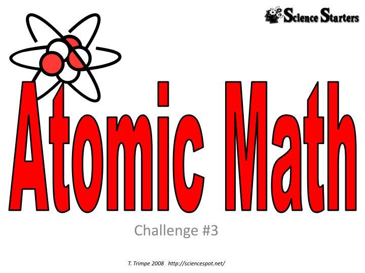 Atomic Math