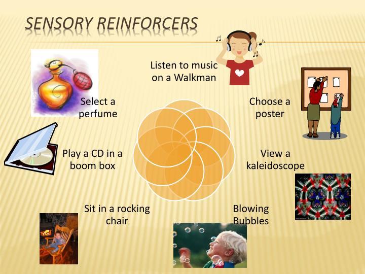 Sensory Reinforcers