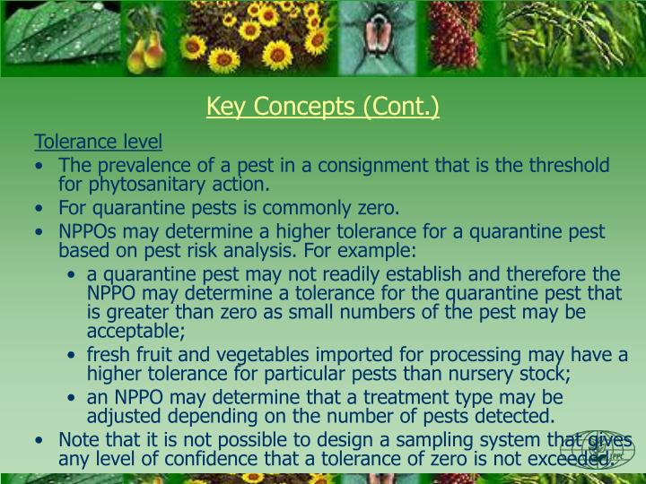 Key Concepts (Cont.)