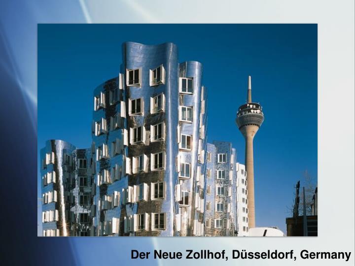 Der Neue Zollhof, Düsseldorf, Germany