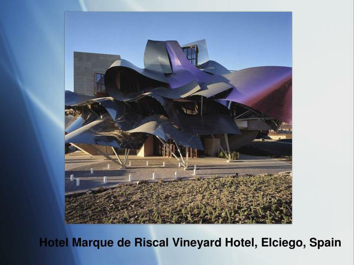 Hotel Marque de Riscal