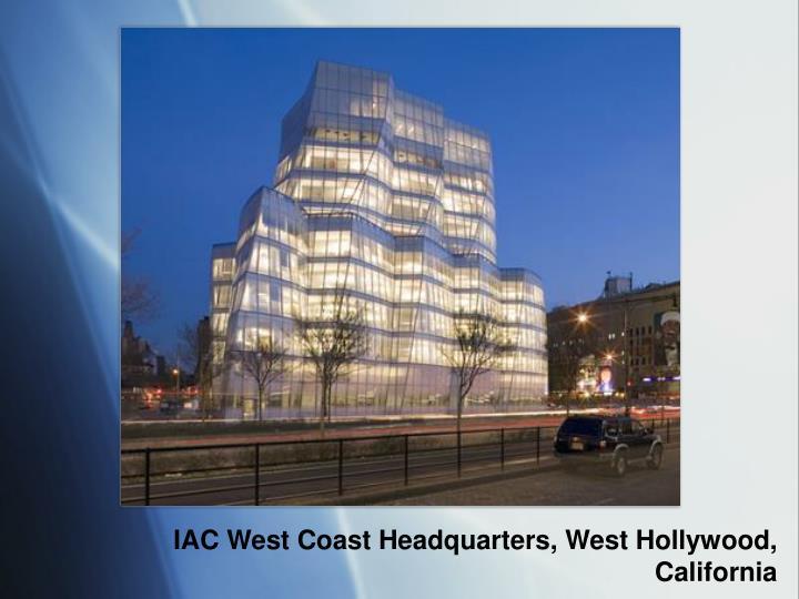 IAC West Coast Headquarters, West Hollywood, California
