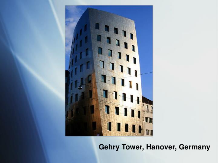 Gehry Tower, Hanover, Germany