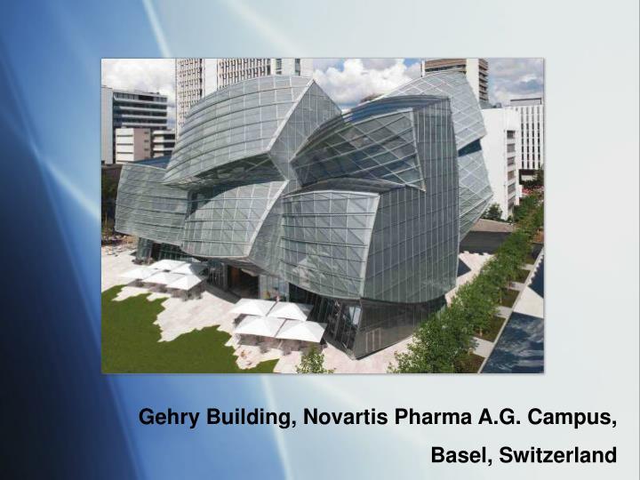 Gehry Building, Novartis Pharma A.G. Campus,