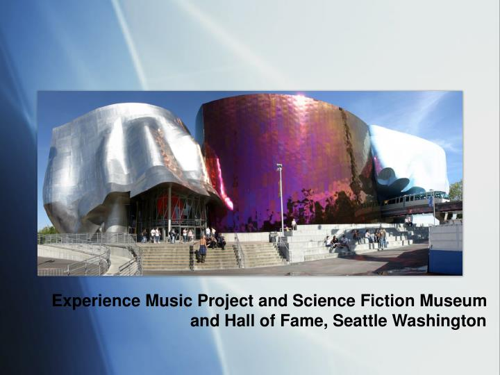 Experience Music Project and Science Fiction Museum and Hall of Fame, Seattle Washington