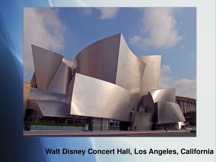 Walt Disney Concert Hall, Los Angeles, California