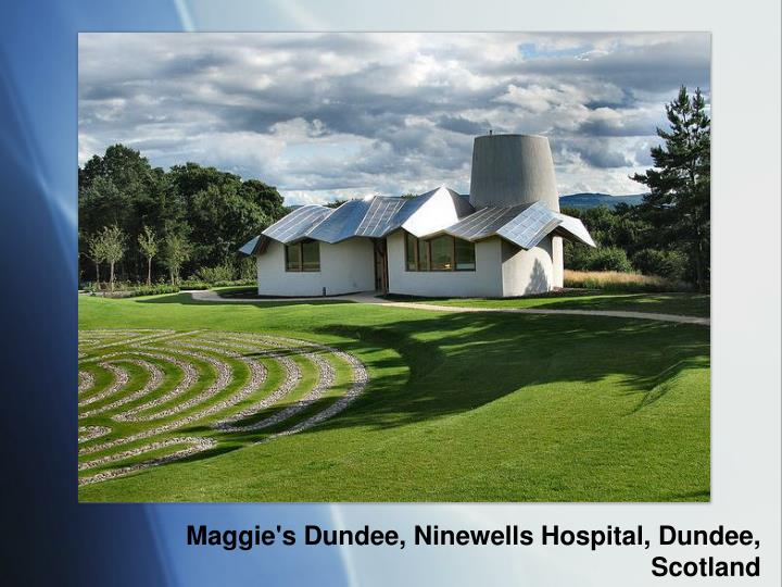 Maggie's Dundee, Ninewells Hospital, Dundee, Scotland
