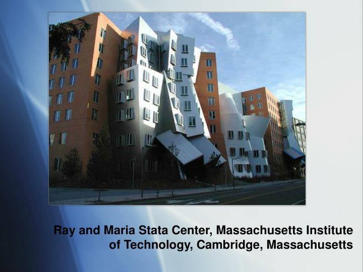 Ray and Maria Stata Center, Massachusetts Institute of Technology, Cambridge, Massachusetts