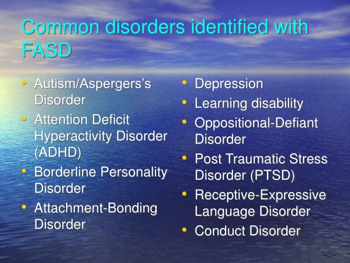 Autism/Aspergers's Disorder