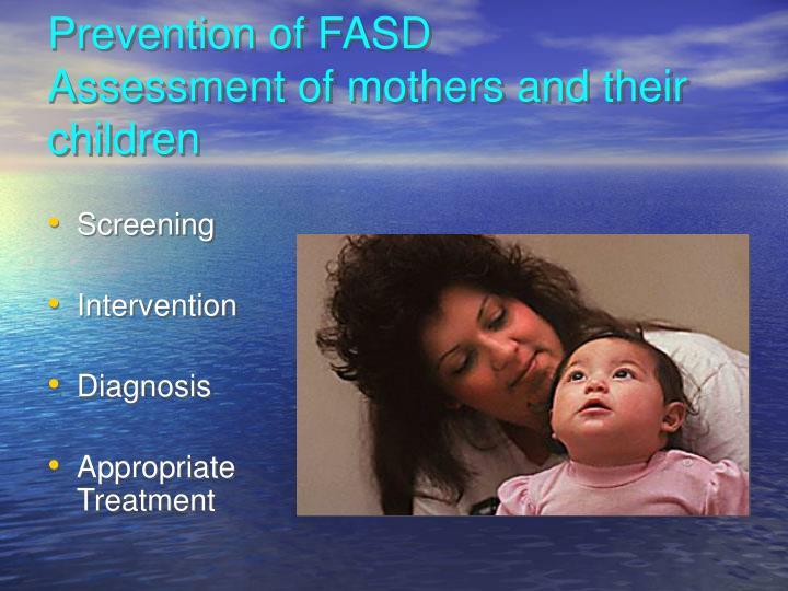 Prevention of FASD