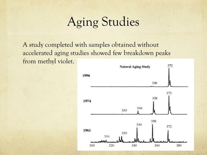 Aging Studies