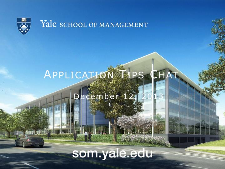 yale business school essays