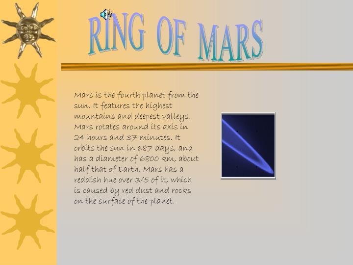 RING  OF  MARS