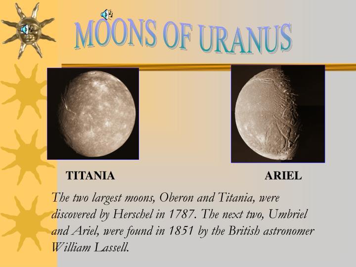 MOONS OF URANUS