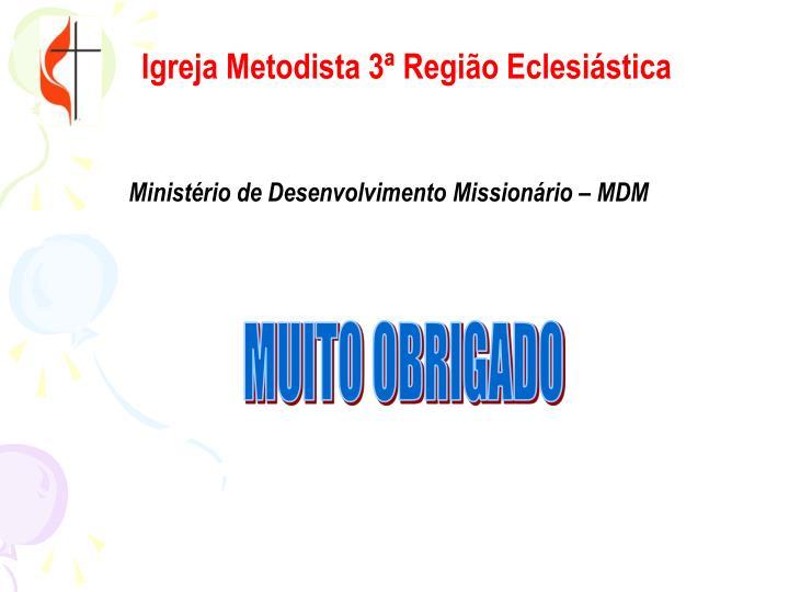 Igreja Metodista 3ª Região Eclesiástica