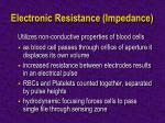 electronic resistance impedance