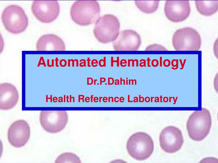 Automated Hematology
