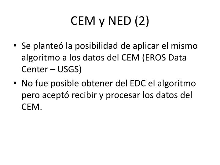 CEM y NED (2)
