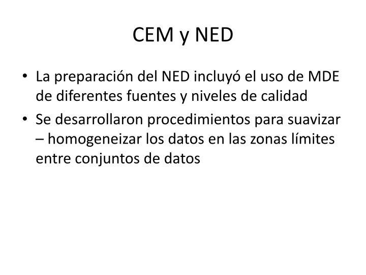 CEM y NED