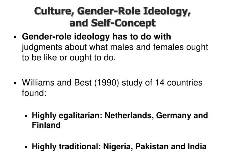 Culture, Gender-Role Ideology,