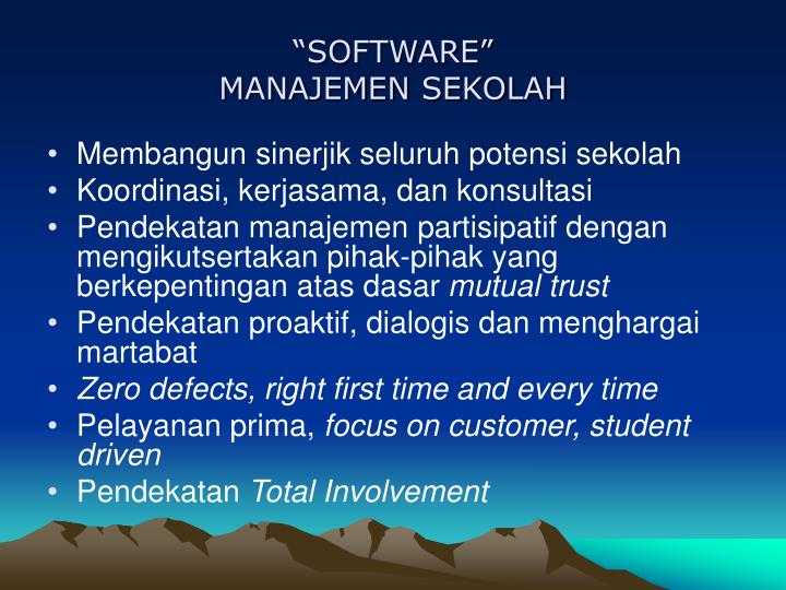 """SOFTWARE"""